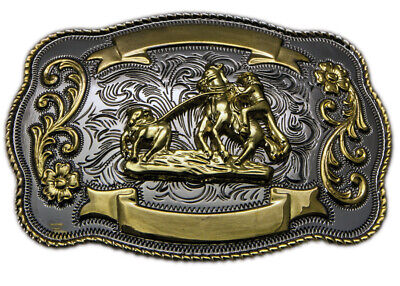 New Calf Roping - TB06 Trophy Buckle Brigalow