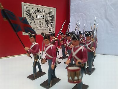 CBG MIGNOT Soldiers English Infantry 1812