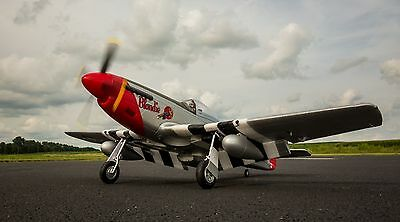 EFlite E-flite P-51D Mustang 1.2m BNF Basic Scale Warbird RC Airplane EFL8250