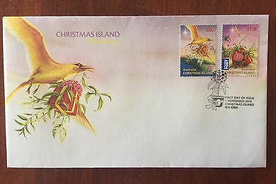 Christmas Islands 2010 Christmas First Day Cover
