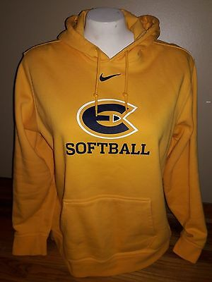 Womens size XL yellow, black and white NIKE Softball sweatshirt