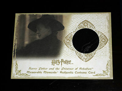 Harry Potter Memorable Moments Rare Costume Card C5 291/360 Mm Mm1