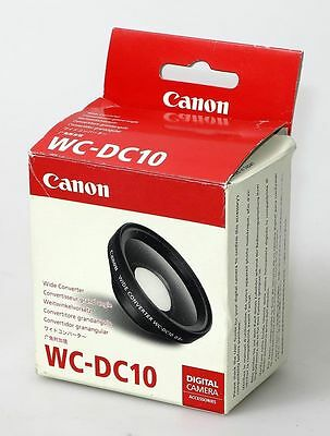 Canon WC-DC10 Wide Converter x0.8 for S80, S90, S95, ...