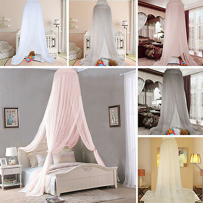 240cm Baby Kids Bedding Dome Canopy Netting Bedcover Mosquito Room Curtain Net