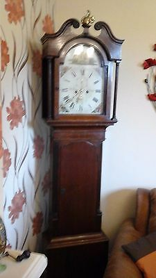 Antique long case  8 Day Grandfather Clock