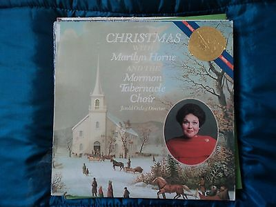 Christmas With - Marilyn Horne, Mormon Tabernacle Choir ~US pressing rare~EX/EX