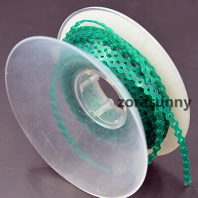 Dental Orthodontics Elastic Ultra Power Chain Blackish green Short Rubber Band
