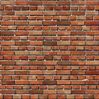 196Mm X 270Mm Ho 1:75 Scale Self Adhesive Brick Wall Paper Sheets