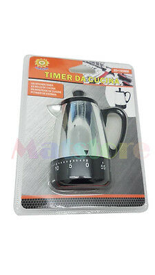 Silver Tea Timer Electric Kettle Small 60 Minutes Stainless Steel Kitchen Tool