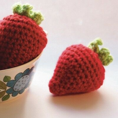 Cute Strawberries Crochet Kit