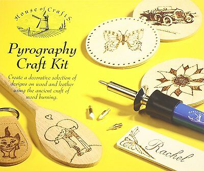 Pyrography Kit House of Crafts