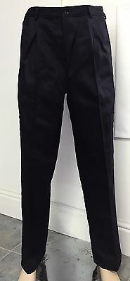 Navy Black Flame Fire Retardant Trousers Bottoms Cargo Pocket Multiple Sizes New
