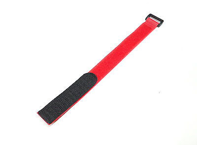 New Loose 1 Peice Red VELCRO® 270mm /27cm Tie Down Battery Strap Holder
