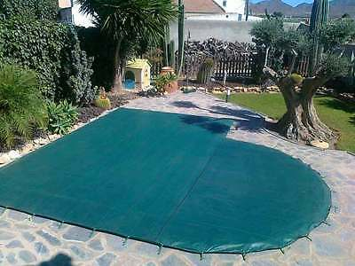 CUBIERTA PARA PISCINA Cover On 2,65x2,30+ anclajes (12 unidades)
