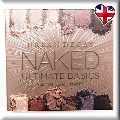 Urban Decay Ultimate Basics NAKED All Matte New Eyeshadow Palette