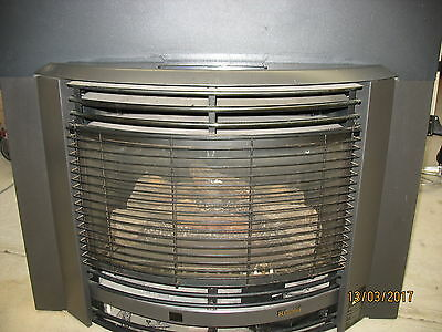 Rinnai Royale Natural Gas Log Heater - Inbuilt Model
