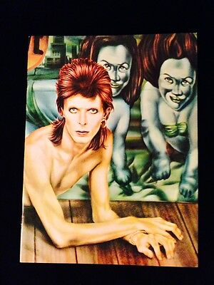 VINTAGE CONCERT PROGRAM-DAVID BOWIE-DIAMOND DOGS-TOUR BOOK-Near Mint-Mint SATIN