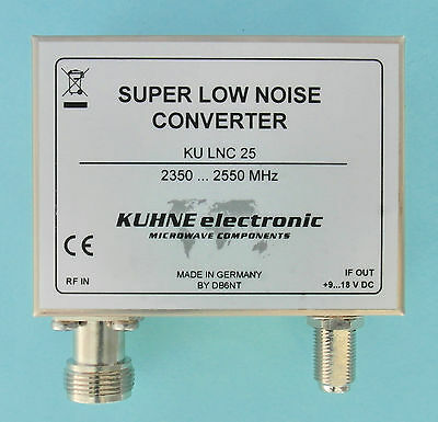 Down Converter RF 2350-2550 MHz, LO frequency 916,5 MHz, MMDS