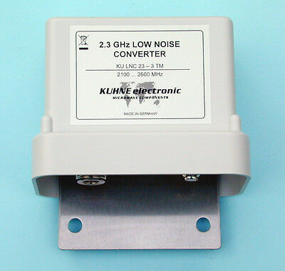 Down Converter RF 2100-2600 MHz, LO frequency 916,5 MHz, MMDS, tower mounted