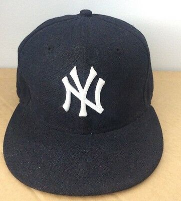 NY New York Yankees 59FIFTY New Era Cap Size 7 3/8