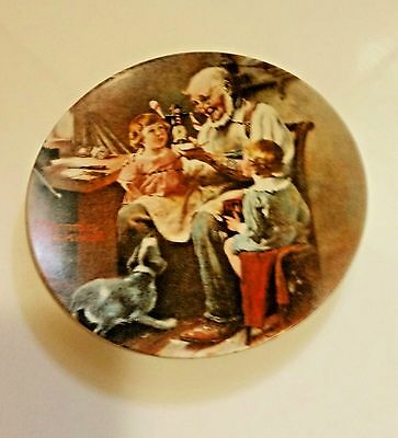 """Norman Rockwell Collector's Plate """"The Toymaker"""" by Knowles #22 1st Edition 1977"""