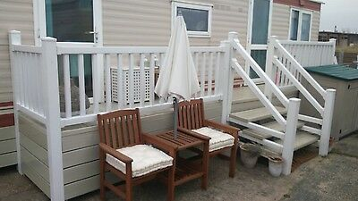 6 Berth Sea View Caravan To Hire On Beach Front Site Caister On Sea Summer Hols