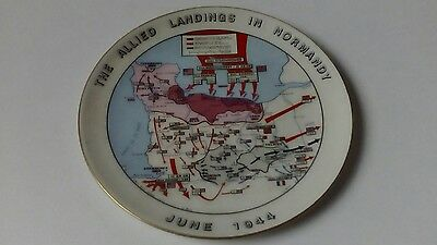 Allied Landings In Normandy 1944 Commemorate plate D day