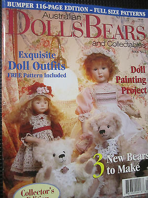 Australian Dolls Bears and Collectables Magazine Vol 6 No 5