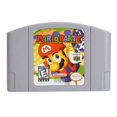 Mario Party Cartridge Only For Nintendo 64 N64 Good Condition US Version