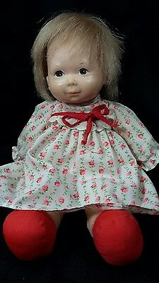 1973 Fisher Price Lap Sitter Baby Ann Doll