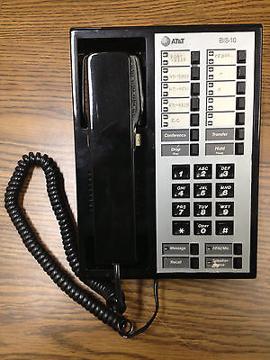 AT&T Merlin BIS-10 7313H 10 Button Standard Telephone