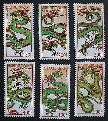 Togo (2000) Year of the Dragon / Mythical Creatures - Mint (MNH)