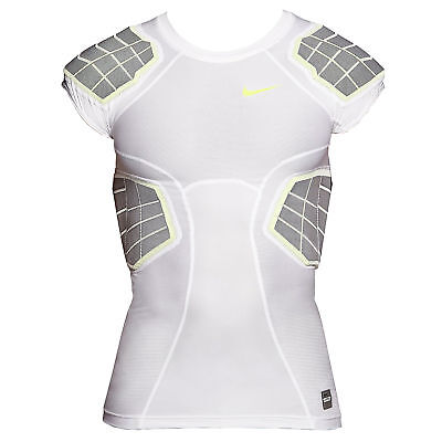 Nike American Football Compresionshirt Hyperstrong 3.0 4-Pad White