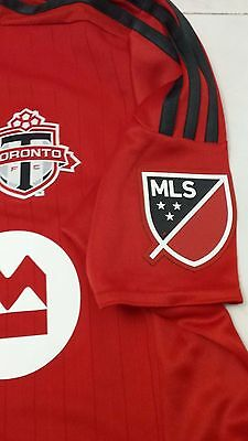 New ADIDAS Toronto FC AUTHENTIC Match Jersey Large - TFC MLS Soccer