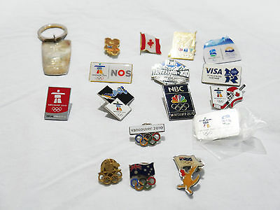 2010 Vancouver Winter Olympic Games Official Pins Rare Aus pins