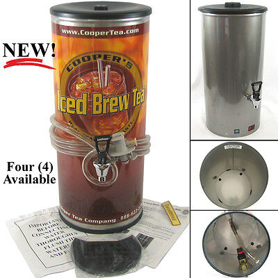 Karma 875 Post Mix Stainless Steel Commercial Iced Tea / Beverage Dispenser