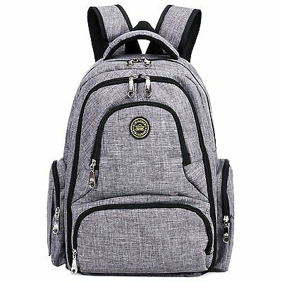 Big Sale - Baby Diaper Bag Waterproof Travel Diaper Backpack with Changing Pad