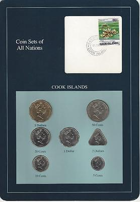 Coin Sets of All Nations - Cook Islands, Triangle Coin
