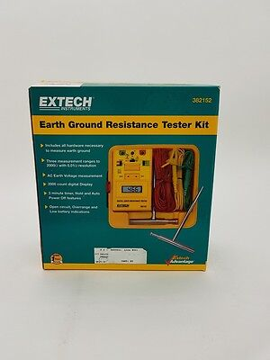 Extech Earth Ground Resistance Tester Kit