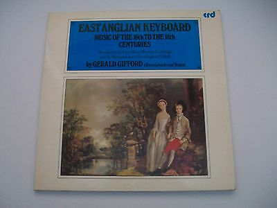 East Anglian Keyboard - Music Of The 16th.To 18th. Centuries UK G/Fold LP M-/EX