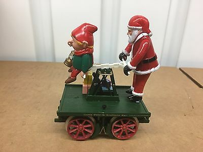 N Bachmann G Scale North Pole & Southern Railway Santa Hand Car