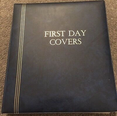 AUSTRALIA FIRST DAY COVER ALBUM COLLECTION 1980's - 105 COVERS