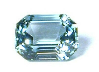 Beautiful,Loupe Clean,Medium Blue Aquamarine!