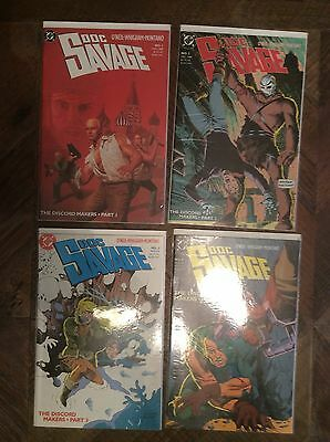 Doc Savage Comic Lot Of 4 Books 1-4 Great Condition