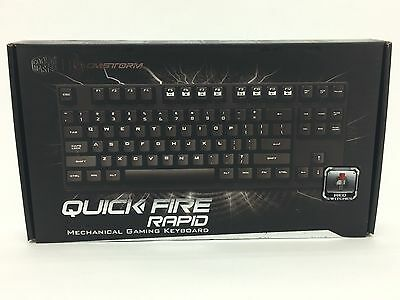 Quick Fire Rapid Mechanical Gaming Keyboard by Cooler Master