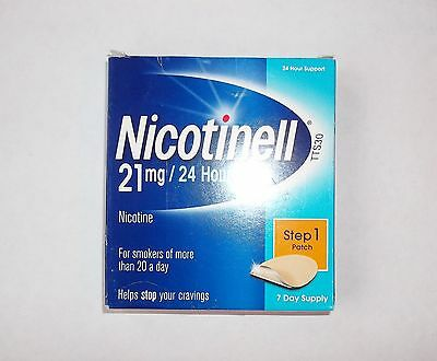 NICOTINELL 7mg / 14mg / 21mg X 7 Patches ( Choose Strength )
