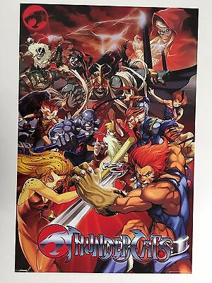 THUNDERCATS, ANIMATION 2000's POSTER