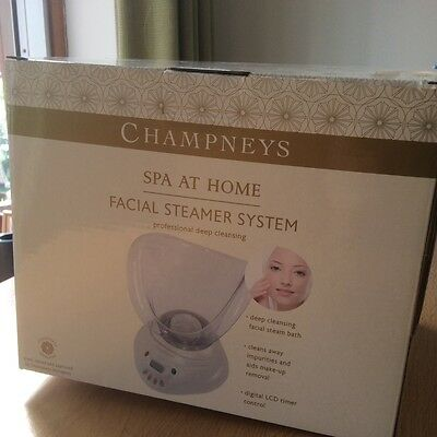 Champneys Facial Steamer System With Professional Deep Cleansing-now SPA At Home