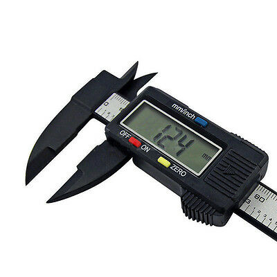 Plastic 150MM 6inch LCD Digital Electronic Vernier Caliper Gauge Micrometer Good