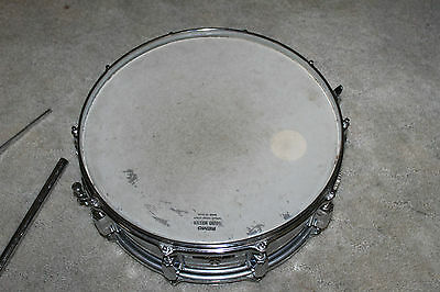 "Old Pearl Chrome 14"" Snare Drum Made In Japan"